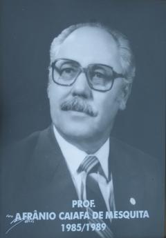 Afrânio Caiafa de Mesquita - 1985-1989