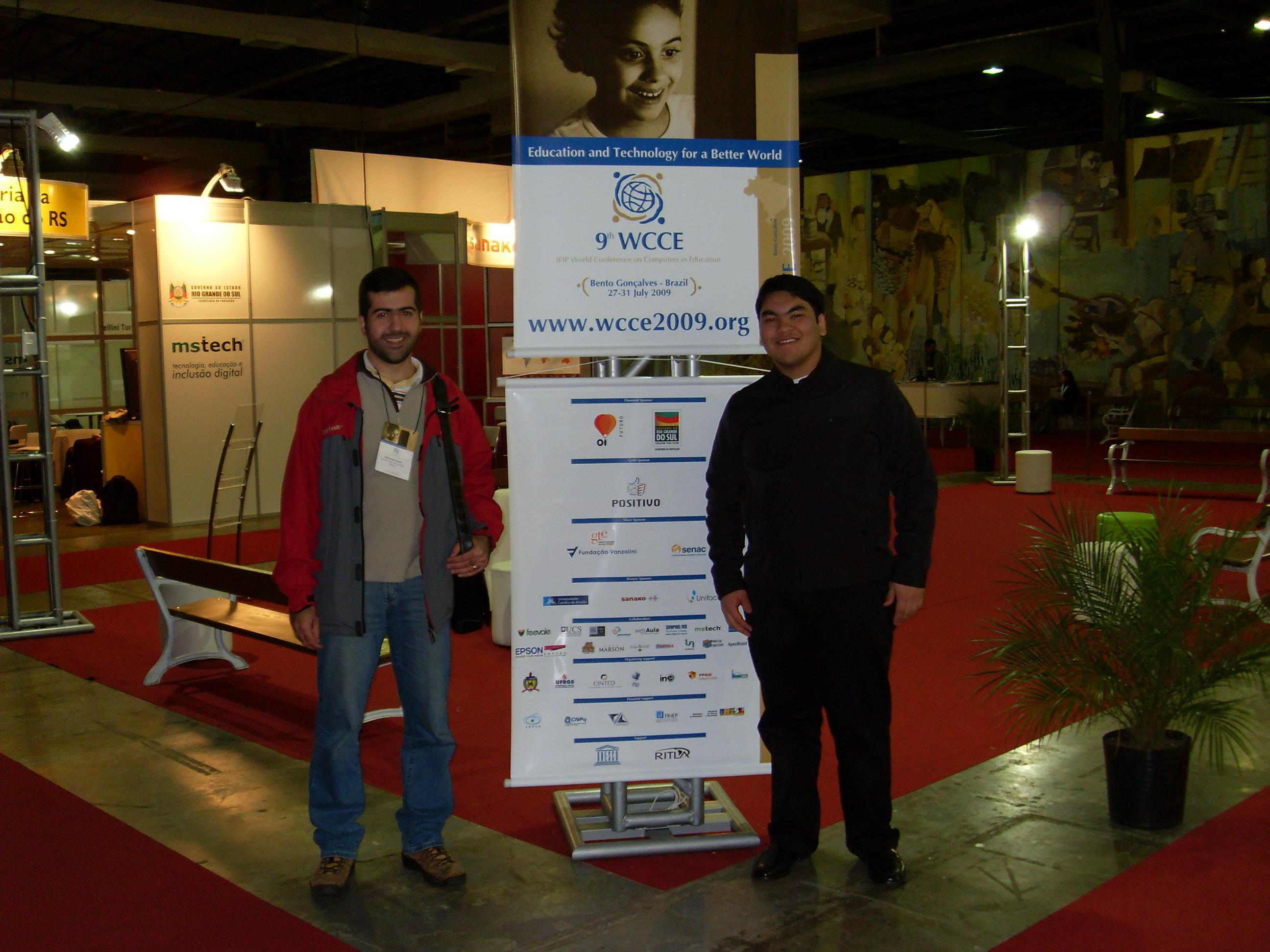 Participando do evento