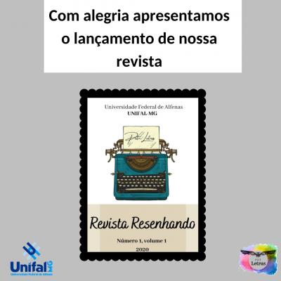 """Nova Revista """"Resenhando"""" lança sua primeira edição"""