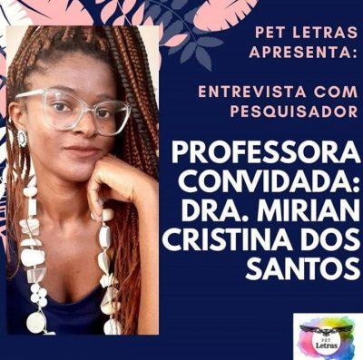 Entrevista com Pesquisador: Confira as dicas de livros da Dra. Mirian Cristina dos Santos