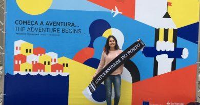 """""""Acredito que essa é uma experiência que muitos desejam viver, mas nem todos sabem que é possível"""", relata discente da UNIFAL-MG que se encontra em mobilidade acadêmica internacional em Portugal"""