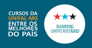 Em Ranking Universitário da Folha, UNIFAL-MG é a 6ª melhor universidade entre as 52 instituições públicas e privadas de mesmo porte no país