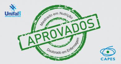 UNIFAL-MG obtém a aprovação de dois novos cursos de pós-graduação pela Capes: mestrado em Nutrição e doutorado em Enfermagem
