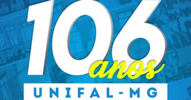 UNIFAL-MG completa 106 anos; a instituição foi criada no dia 3 de abril de 1914