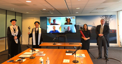 Ex-aluna da UNIFAL-MG defende tese de doutorado na Holanda; tema da pesquisa teve início durante mestrado em Ciência e Engenharia de Materiais
