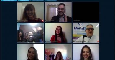 Em tempos de distanciamento social, UNIFAL-MG realiza primeira formatura por webconferência; a solenidade foi realizada na sexta-feira (29) com transmissão ao vivo pelo Youtube