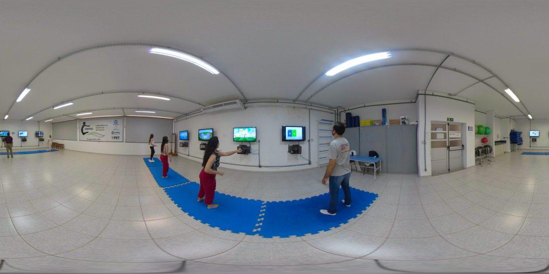 Laboratório de Realidade Virtual (Fisioterapia)