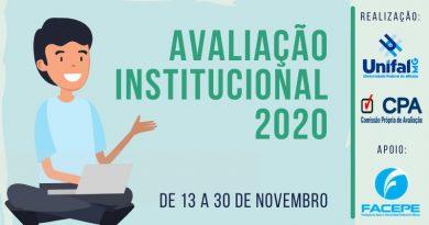 Estudantes, servidores e comunidade podem contribuir no desenvolvimento da UNIFAL-MG pela avaliação institucional; este ano, a CPA, por meio da Facepe, vai sortear dois smartphones entre os servidores e discentes