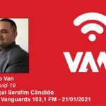 Vacina Covid-19: economista da UNIFAL-MG comenta a logística de distribuição brasileira e a dependência de insumos importados na Rádio Vanguarda