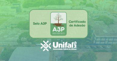 UNIFAL-MG adere à A3P, agenda de administração pública vinculada ao Ministério do Meio Ambiente; parceria busca garantir práticas de gestão sustentável e de utilização coerente de bens públicos