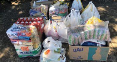 UNIFAL-MG integra campanhas de arrecadação de alimentos para famílias em situação de risco; em conjunto, mais de 400 quilos de produtos já foram doados por projetos da Instituição
