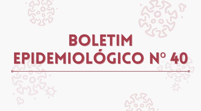 :: Boletim Epidemiológico N° 40 – 20/09/2021 – Situação epidêmica de Covid-19 em Minas Gerais e no sul de Minas