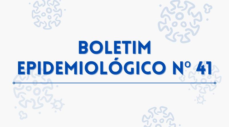 :: Boletim Epidemiológico N° 41 – 27/09/2021 – Situação epidêmica de Covid-19 em Minas Gerais e no sul de Minas