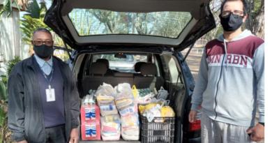 Parceria entre o projeto de extensão UNIFAL-MG em Sintonia e Accel doa  cestas básicas para população; projeto busca novos parceiros para manter o atendimento