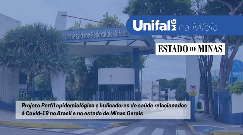 Jornal repercute estudo da UNIFAL-MG que aponta queda de novos casos de Covid-19 em 12 regiões de Minas Gerais