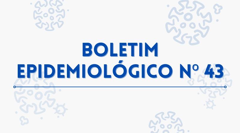 :: Boletim Epidemiológico N° 43 – 11/10/2021 – Situação epidêmica de Covid-19 em Minas Gerais e no sul de Minas