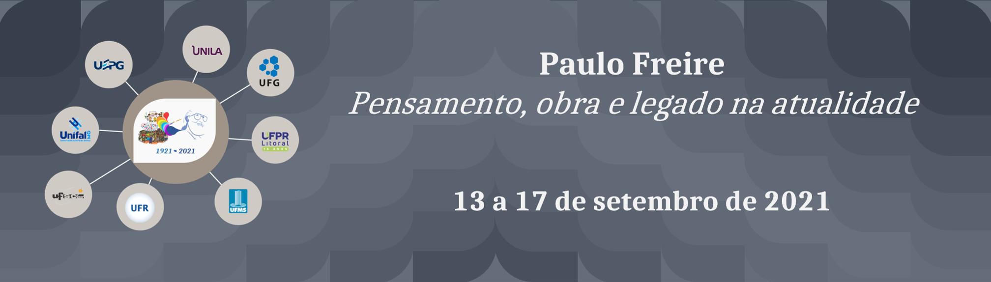 Portal memorial – Centenário Paulo Freire
