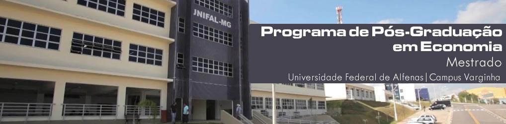 Programa de Pós-Graduação em Economia