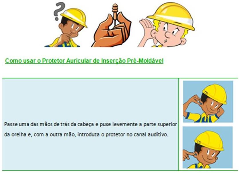 b7b8405e03503 3) Protetor Auricular de Inserção Pré-Moldável